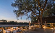 Simbavati River Lodge Timbavati Game Reserve In the heart of the Timbavati Game Reserve, the Simbavati River Lodge offers the chance of a face-to- face encounter with Africa's incredibly varied wildlife from the lodge's private viewing decks.