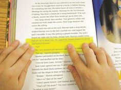 The Eye Lighter highlights multiple lines of text or underlines a single sentence to aid eye tracking, improve reading comprehension and reading fluency. Use it to help with reading focus, speed readi Reading Intervention, Reading Strategies, Reading Activities, Guided Reading, Teaching Reading, Reading Comprehension, Partner Reading, Reading Help, 4th Grade Reading