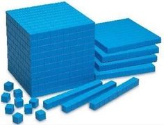 Primary school math blocks Came in different colors too