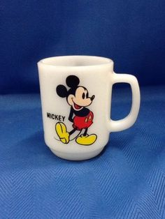 Anchor Hocking Oven Proof Mickey Mouse Mug