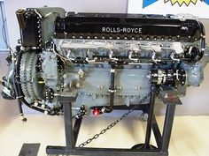 2350 hp at 2750 RPM and lbs boost. Plane Engine, Aircraft Engine, Ww2 Aircraft, Mechanical Art, Mechanical Engineering, Rolls Royce, Automotive Engineering, Performance Engines, Motor Engine
