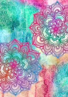 Mandala Water Colour