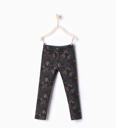 ZARA - KIDS - Printed trousers with pocket