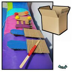 Usamos carton para realizar estos instrumentos. Para mas tips y Actividades suscribete a nuestro canal de youtube 👇🎶😱🎉