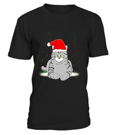 """# Funny Black & White Cat in Santa Hat Christmas T-Shirt .  Special Offer, not available in shops      Comes in a variety of styles and colours      Buy yours now before it is too late!      Secured payment via Visa / Mastercard / Amex / PayPal      How to place an order            Choose the model from the drop-down menu      Click on """"Buy it now""""      Choose the size and the quantity      Add your delivery address and bank details      And that's it!      Tags: Merry Christmas and…"""