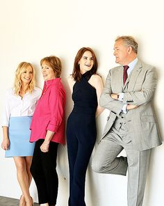 Joanne Froggatt, Penelope Wilton, Michelle Dockery, Hugh Bonneville attending PBS's 'Downton Abbey' panel tonight (1st August, 2015) ..Last Days of Downton ..