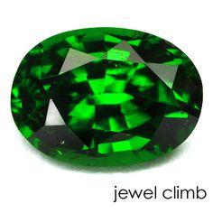 高品質グリーンガーネット(Green Garnet)0.46CT