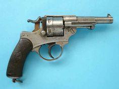 Italian Glisenti Early Model Double Action  Revolver
