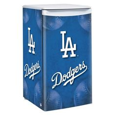 Los Angeles Dodgers 3.2 Cubic Feet Counter Height Fridge
