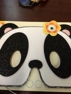 Panda mask also a card