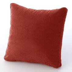 This Brentwood Heavyweight Faux-Suede Box Pillow features gusseted sidewalls and a microfiber construction. Black Couches, Geometric Throws, Orange Pillows, Sonoma Goods For Life, Pillow Box, Decorative Throw Pillows, Bed Pillows, Design, Poufs