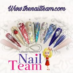 Nail Art Wheel, Christmas Nails, Wheels, Tea, Design, Christmas Manicure, Xmas Nails, Teas