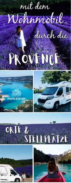 To lavender blossom in the Provence - Reisetips Europa - Camping Camping Tours, Camping Places, Camping World, Camping Cabins, Tent Camping, Europe Destinations, Europe Travel Tips, Travel Pro, Camping Provence
