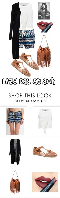 """""""LAZY DAY AT SCHOOL"""" by jazpreet on Polyvore featuring Vero Moda, Fiebiger, women's clothing, women, female, woman, misses and juniors"""