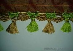 Image result for tassels for saree