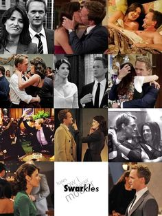 How I Met Your Mother~Swarkles<---- OMGoodness. How perfect is that? Robin Scherbatsky, Best Tv Shows, Best Shows Ever, Favorite Tv Shows, Josh Radnor, Barney And Robin, Glee, Sherlock, Yellow Umbrella