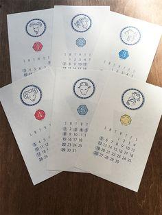 星座さんカレンダー 2016年版