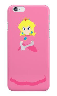 Super Mario Bros. Princess Toadstool iPhone Case