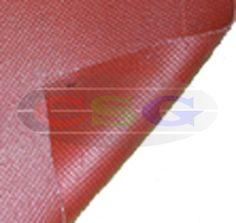 Silicone Rubber Laminated Fiber Glass Fabrics  Item Code: PRSM-IHHTF-SRLFGF-1504