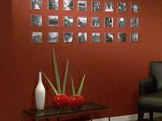 Manualidades y Artesanías   Mural fotográfico con cajas de cd   Utilisima.com