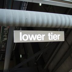 Lower Tier Sign From Giants Stadium (13x66 1/2)