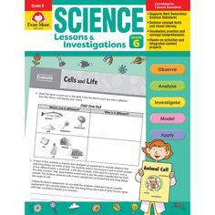 Science Lssns & Investigations Gr 6