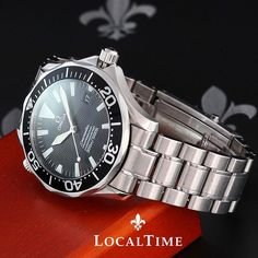 Omega Seamaster Pro 300m Automatic SMP 41m Diving Watch Ref. 22545000 on Bracelet