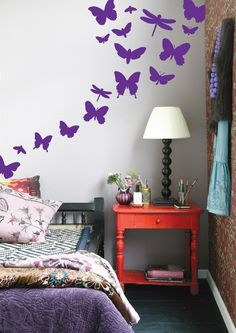 Ferm living's wall stickers. Great for a kids room.