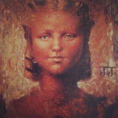 Retrato de Jeannie. Óleo sobre tela 1937 , esposa del Artista. Mtro. Jorge González Camarena