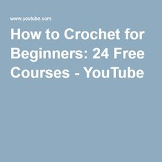Great Pictures Crochet for Beginners teaching Concepts If you're working out c. Great Pictures Crochet for Beginners teaching Concepts If you're working out crochet, there are some things to consider . Crochet 101, Beginner Crochet Tutorial, Tunisian Crochet, Crochet Patterns For Beginners, Crochet Videos, Crochet Basics, Knitting For Beginners, Learn To Crochet, Crochet Crafts