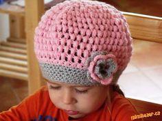Pecičková čepička baretek