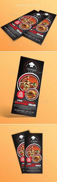 Restaurant Flyer Templates Flyer template, Brochures and Food - restaurant flyer