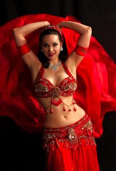 Belly Dancer = All In Red