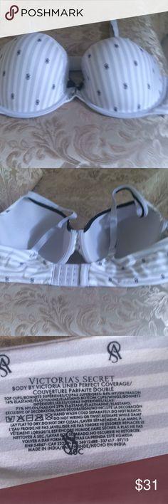 Victoria secret bra size 40 C one time use good Victoria secret bra size 40 C one time use good condition Victoria's Secret Intimates & Sleepwear Bras
