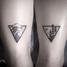 Matching tattoos for best friends, husband and wife, mother daughter or family 7