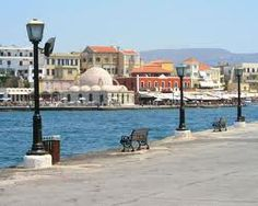 Find out how to explore the city of Chania Greece, the most well-preserved city on the island of Crete and the gorges, mountains and beaches in the Prefecture. Heraklion, Chania Greece, Cedar Forest, Republic Of Macedonia, Harbor Town, Asia, Tourist Spots, Greek Islands, Capital City