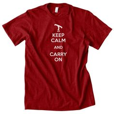 Keep Calm and Carry On Canoeing Portage tshirt by GalleryofTops, $14.99
