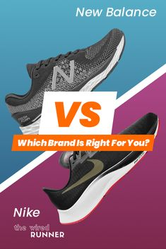 New Balance Vs Nike - Which Brand Is Right For You? Flyknit Racer, Nike Flyknit, Best Running Shoes, Nike Running, Barefoot Landing, Nb Shoes, Expensive Shoes, Walk Run, Air Zoom