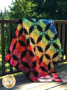 Kaffe Pineapple Quilt Kit - Video Project