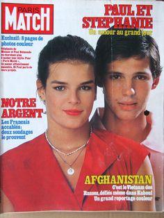 Princesse Stéphanie de Monaco et Paul Belmondo
