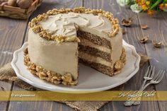 Whole pear cake - HQ Recipes Sushi Recipes, Gourmet Recipes, Sweet Recipes, Cake Recipes, Mascarpone Dessert, Mousse, Pear Cake, Cake & Co, Drip Cakes