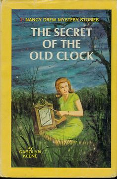 Spent many a summer day reading Nancy Drew Mysteries!
