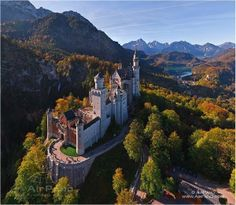 """""""Neuschwanstein Castle in Bavaria, Germany"""""""