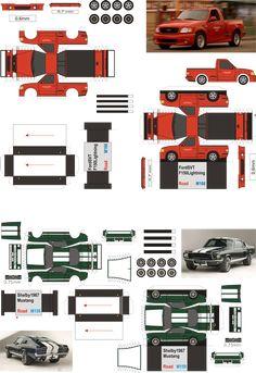 Paul Walker set cars - www.minimodel.cz - Minimodel.cz