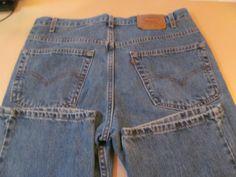 Very Comfy Levi Strauss Jeans Denim Blue Jeans Levis 36 x 32 Red Tag 517 Levi Strauss & Co Boot Cut Jeans ReVintageBoutique.Etsy.com