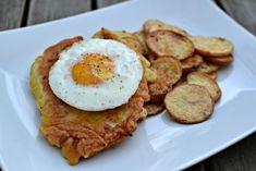 plumlovský řízek Eggs, Breakfast, Food, Morning Coffee, Essen, Egg, Meals, Yemek, Egg As Food