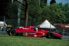 NICOLA LARINI -best finish 2nd place in the Race that took Ayrton Senna-San Marino 1994 Ferrari