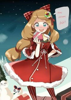 Serena ^_^ I give good credit to whoever made this