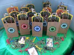 Wild Kratts gift bags. So fun!