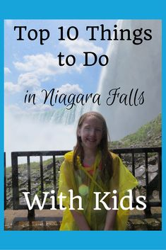 Planning a trip to Niagara Falls with kids? Here's our list of the top 10 things for families to do in Niagara Falls, Canada. Fall Vacations, Family Vacation Destinations, Vacation Trips, Vacation Ideas, Vacation Spots, Travel Destinations, Summer Travel, Travel With Kids, Family Travel